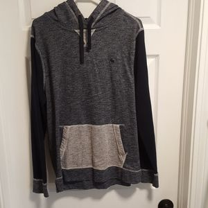 Abercrombie and Fitch triple tone hoodie